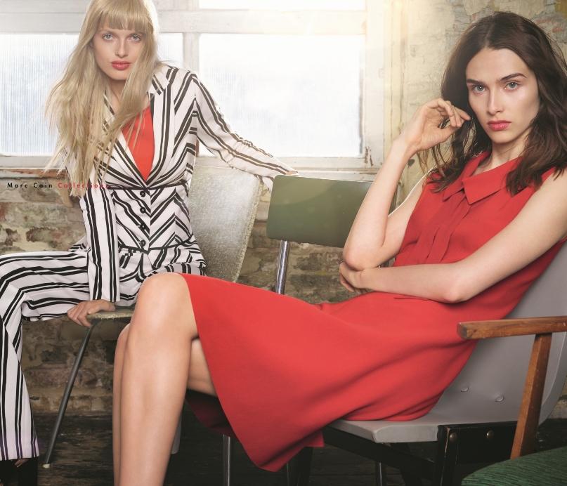 fd33fec09c5c Bij het Duitse Italiaanse modebedrijf Marc Cain staat innovatief denken  centraal, waarbij er veel aandacht is voor design, kwaliteit, materialen en  pasvorm.